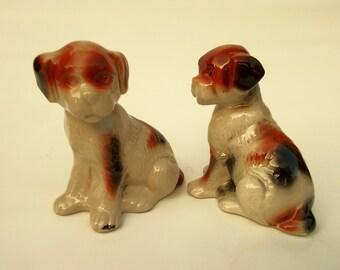 Ceramic  pair of dogs