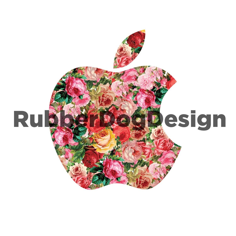 1366x768 apple logo flower - photo #33