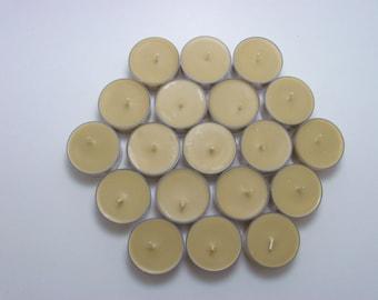 100 Soy Tea Lights In Any Variety, Bulk, Wedding, Housewarming, Shower Favor