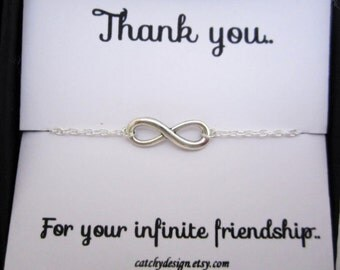 Best friend infinity  Etsy
