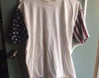 Vintage American Flag Patriotic T-shirt