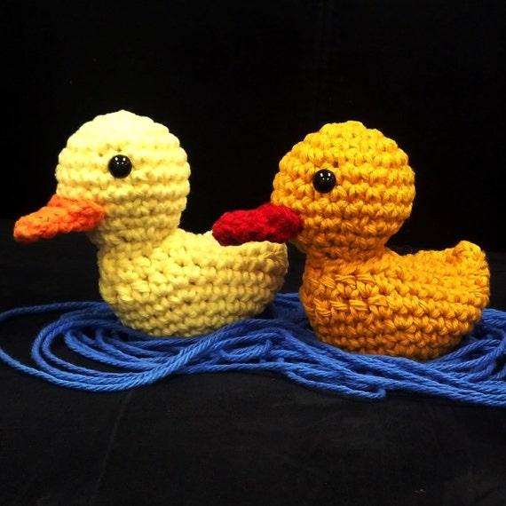 Crochet Amigurumi Pattern Quick and Easy Cute Duck Ducky