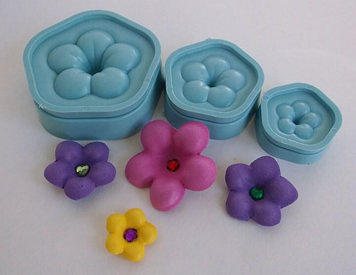 mousse 3d fleur moule fofucha mousse bricolage. Black Bedroom Furniture Sets. Home Design Ideas