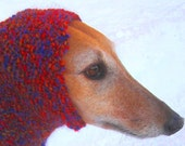 Dog Snood-warm dog ears/dog neck warmth/cold dog ears/all dog breeds/dog accessories/hand knit dog - CouchPotatoDogKnits
