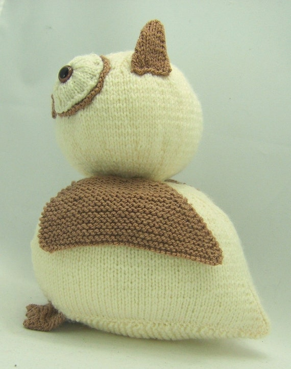 Knitting By Post Owl : Knitting pattern owl doorstop download