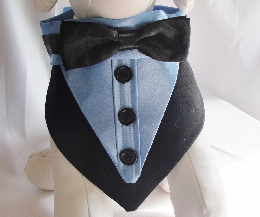 little dog tuxedo pet bandana tuxedo collar dog wedding