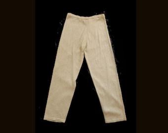 Vintage Gold Metallic Pants   Size Medium