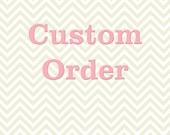 Custom Order for TYMERON
