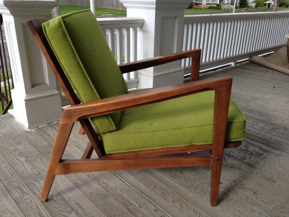 60 S Mid Century Modern Danish Chair Mfg By Tell City