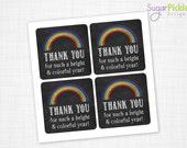Teacher Appreciation Gift Tag, Teacher Gift Tag, Thank you Teacher Tag, Teacher Printable, DIY Printable INSTANT DOWNLOAD