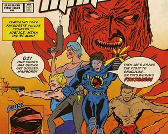 Manborg - Issue #1