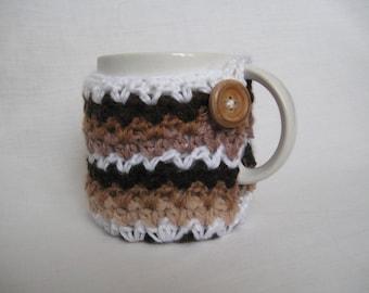 Crochet PATTERN - Ripple Cup Cozy **Crochet Pattern**