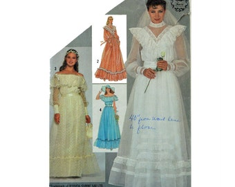 Wedding dresses: victorian wedding dress pattern