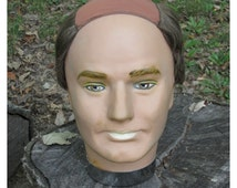 On Reserve for Brian... Male Mannequin Head ~ Display Mannequin Head