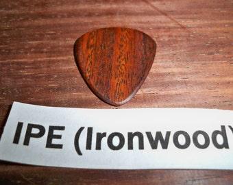 IPE Ironwood Guitar pick