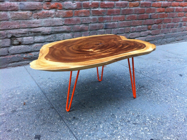 Sold Beautiful Live Edge Acacia Wood Coffee Table