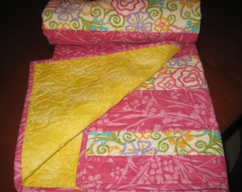 Bold beautiful Baby Quilt