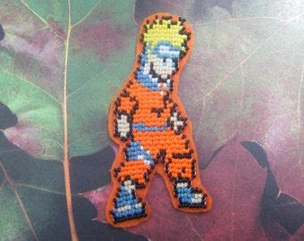 Naruto: Beaded Naruto Patch