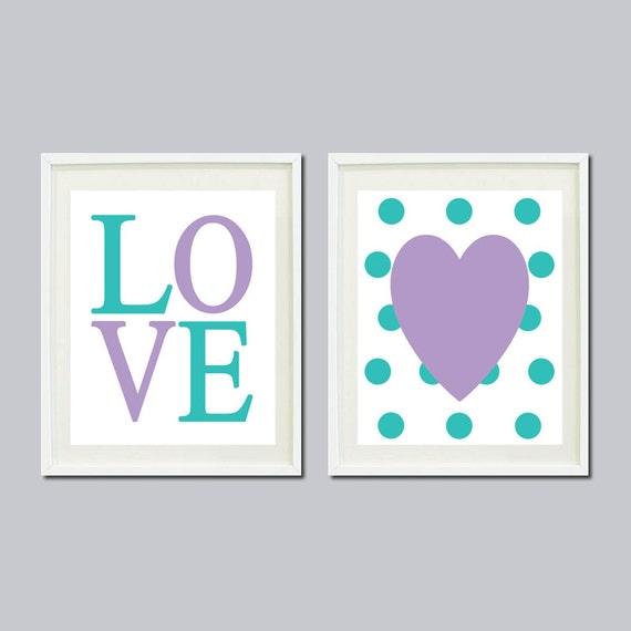 Items similar to baby girl nursery decor lavender for Lavender bathroom decor