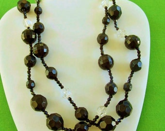 Vintage Beaded Necklace (Item 844)