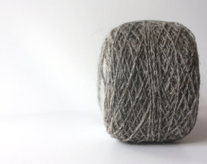 Spinning Yarns Weaving Tales - Origins 2  04  Mid Grey for  Weaving - Warp & Weft