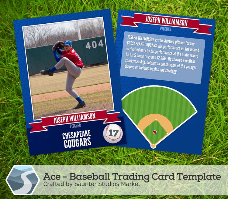 ace baseball trading card 2 5 x 3 5 photoshop by saunterstudios. Black Bedroom Furniture Sets. Home Design Ideas