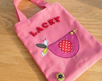 Personalised Childs Book bag