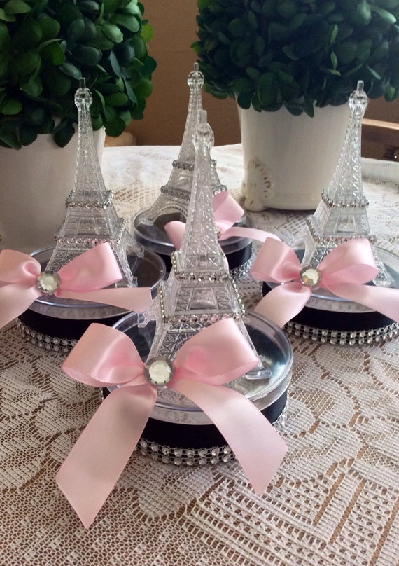Eiffel Tower Favor Eiffel Tower Ballon Holder By