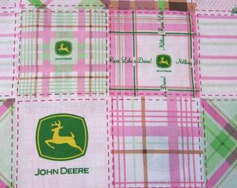 "1/2 yard of 100% cotton ""John Deere"" Fabric"