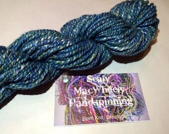 Salvia Dream - Hand-Spun Silk & Merino Yarn