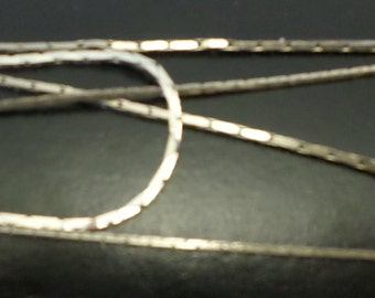 Lot of 3 S-Chain Vintage Silver Plated Necklace & Bracelet