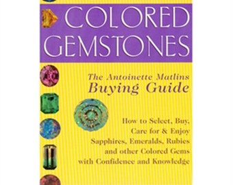 New Colored Gemstones by ANTOINETTE L. MATLINS, Jewelry Book 580-057