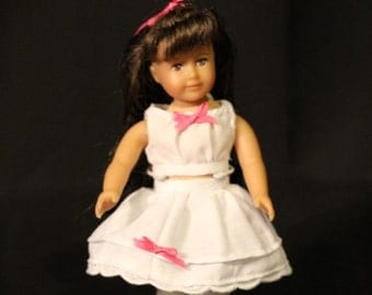 Mini Victorian 6 inch Doll's Lacey Whites