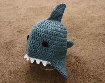 Crocheted Baby Shark Hat