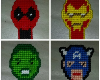 Marvel Characters Bookmarks