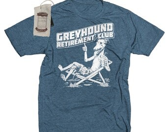 Greyhound T-Shirt. Greyhound Shirt. Women's Dog T-Shirt -Greyhound Rescue Shirt in Sizes Small to XXL