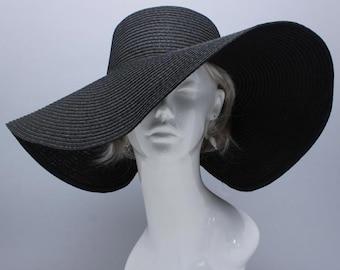 Womens Kentucky Derby Wide Brim Wedding Church Beach Sun Hat