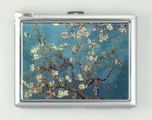 Van Gogh Blossoming Almond Tree   Cigarette Case Lighter Wallet  (cgc-1423)