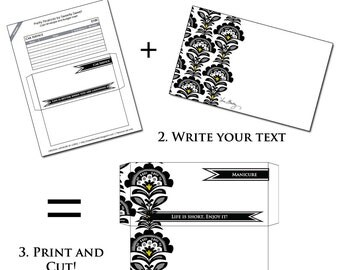 Printable Cash Envelope System - Budget Helper - Templates to use with your favorite paper