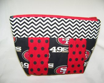 Cosmetic Pouch- Multiple sizes