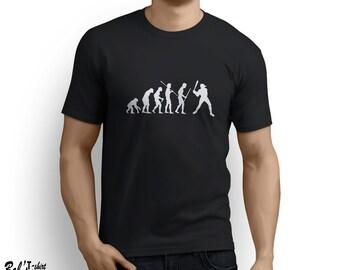 Evolution Baseball T-shirt Little League Softball Tee