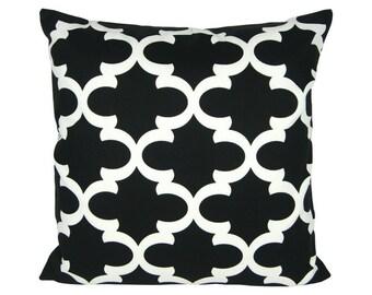 Pillowcase pillow FYNN 50 x 50 cm black and white
