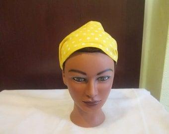 sunny yellow headband
