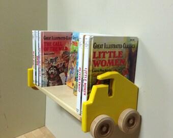 Dump Truck Bookshelf