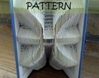 Book folding Pattern: PISCES design (including instructions) – DIY gift – Papercraft Tutorial