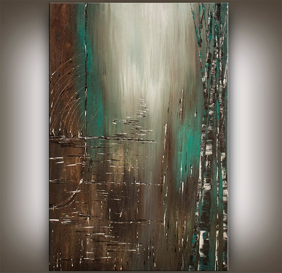 Original acrylic abstract painting by contemporaryartdaily for Contemporary art paintings for sale