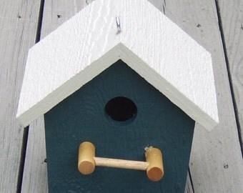 Amish Made Plain Bird House