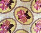 Anna Maria Horner Free Spirit Garden Party Waltz Cream Yellow Gold Out of print