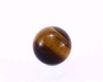 Tigers Eye Sphere , Crystal sphere ,Crystal Ball  - T10