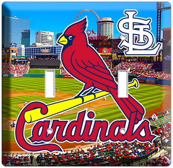 St Louis Cardinals Man Cave Ideas : St louis cardinals mlb baseball team stadium logo by